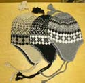 Winter ear cover trooper hat with strings tie