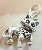 Elegant kitty design 925. sterling silver pendant
